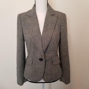 Ann Taylor Loft Size 6 Blazer Jacket Tailored L/S